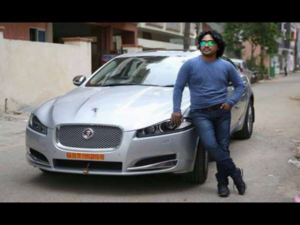 Music Director Arjun Janya's Jaguar Car seized for not paying road Tax