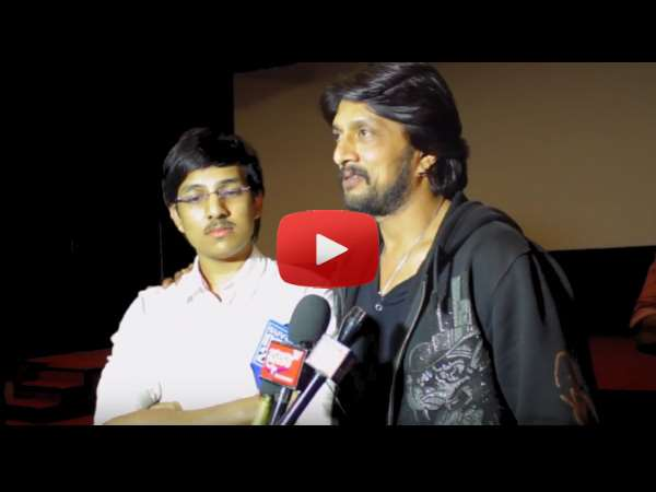 Watch Kichcha Sudeep Talks about Care of Footpath 2