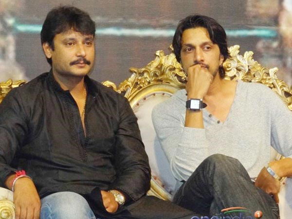 Why Darshan was didnt attend Sudeep's 'Kali' title launch function.