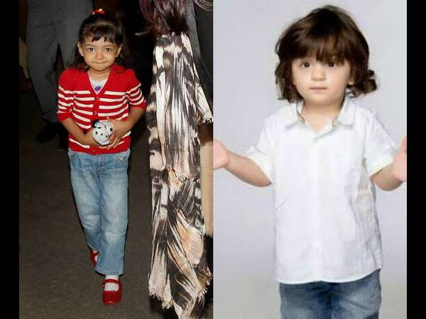 Bachchan hopes Aaradhya and Abram make good onscreen pair