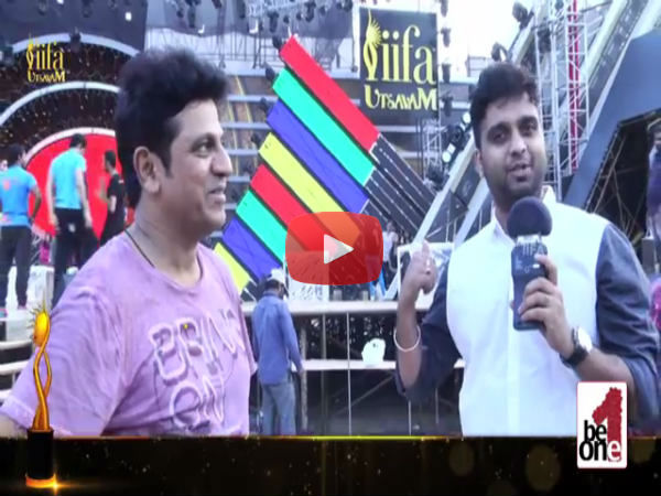 Watch Shiva Rajkumar Live Dance Performance at IIFA Utsavam
