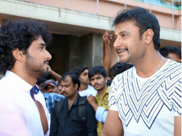 Actor Chethan Chandra is Thankful to Darshan