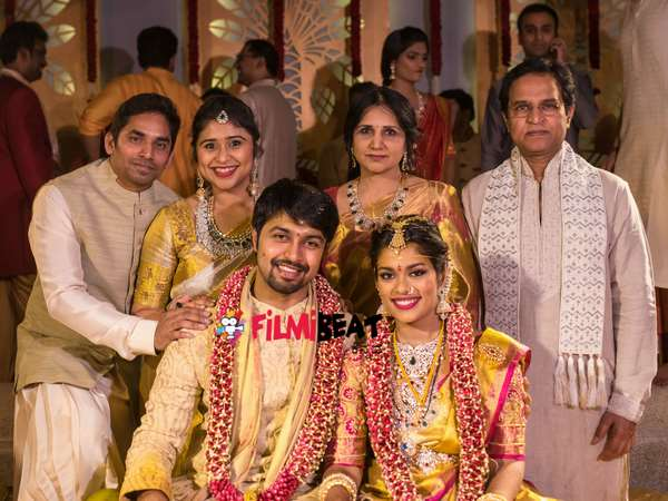 Exclusive photos; Chiranjeevi's Daughter Srija-Kalyan wedding