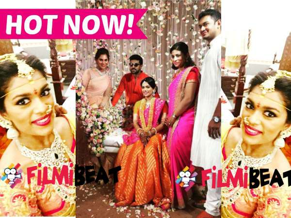 In Pics; Chiranjeevi's Daughter Srija tied knot with Kalyan