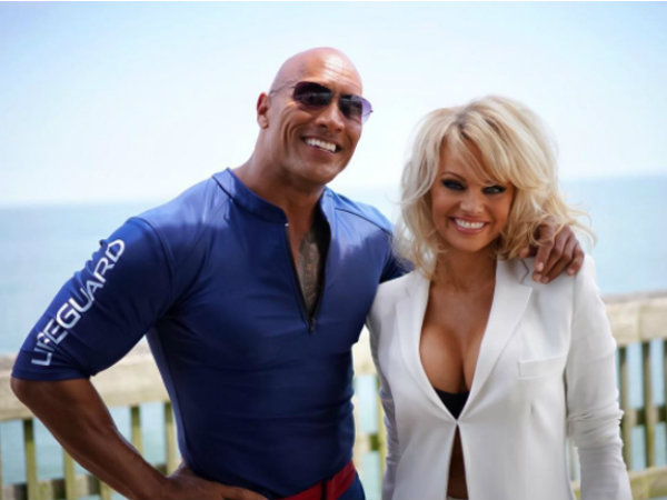 Hollywood Actress Pamela Anderson Joins 'Baywatch' movie