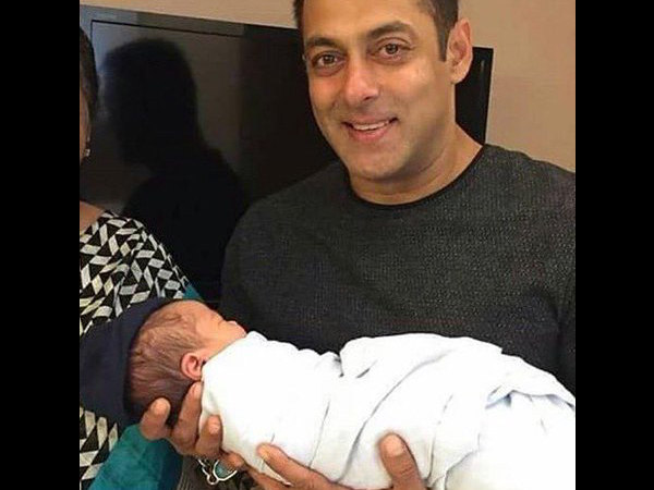 Uncle Salman Khan gifts a swanky new car to baby Ahil