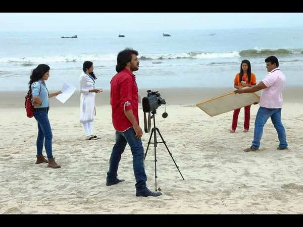In pics: Upendra shoots for 'Kalpana 2'