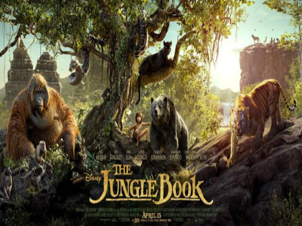Hollywood movie 'The Jungle Book' 1st day Collections