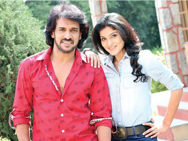 Patriotic Kannada song for Upendra's Horror film 'Kalpana 2'
