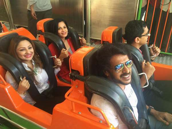 Actor Upendra Launch Reverse Roller Coaster-Recoil
