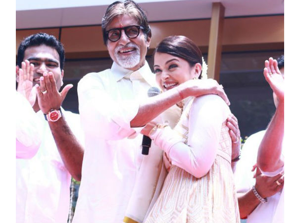 Amitabh's Response To Aishwarya Rai's Purple Lips At Cannes