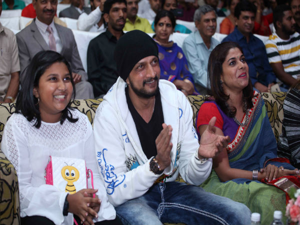 Surprise; Sudeep and Priya makes Public Appearance together