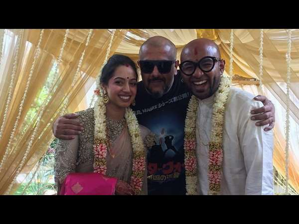 Singer Benny Dayal tied the knot with model Catherine Thangam