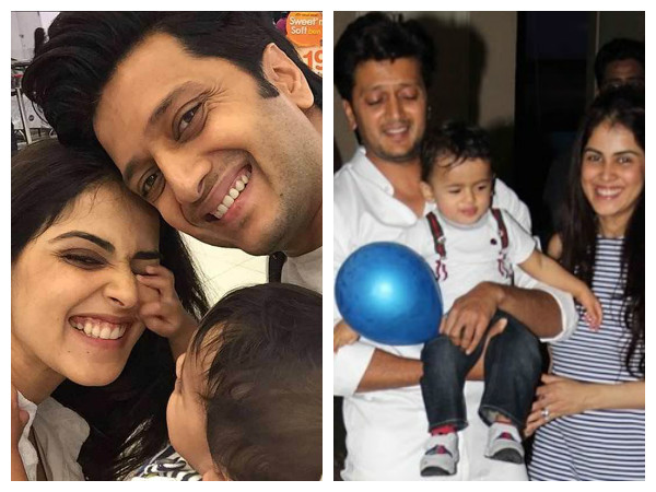 It's A Baby Boy Again For Riteish Deshmukh and Genelia D'Souza