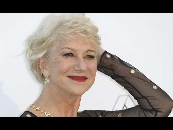 Actress Dame Helen Mirren talks about feeling her age at 70