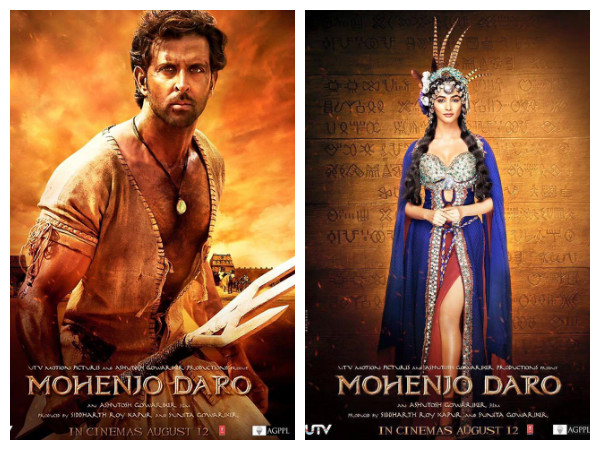Actress Pooja Hegde looks stunning as 'Chaani' in 'Mohenjo Daro'