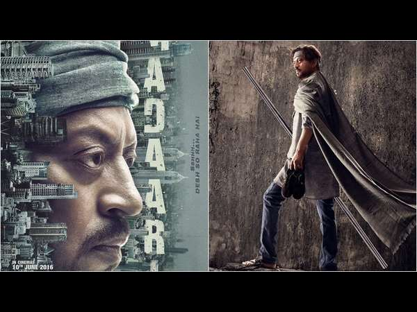 Tamil film 'Kabali' stole 'Madaari' poster says actor Irrfan Khan