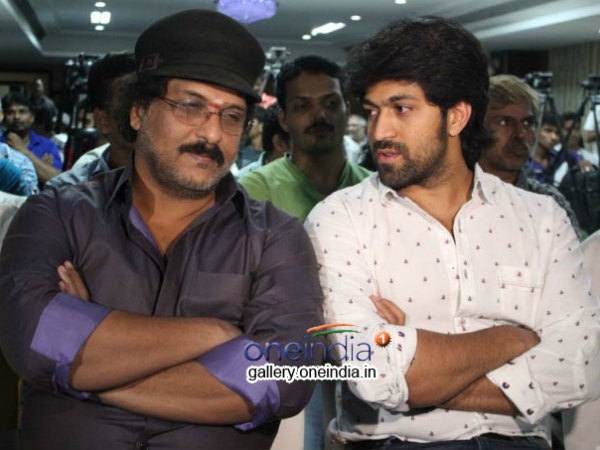 Kannada Actor Yash speaks about kannada movie 'Apoorva'