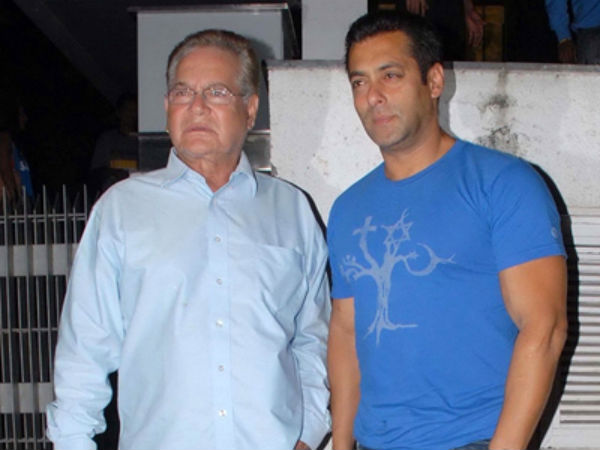 Salman's remark on rape was wrong: Says Salman's father Salim