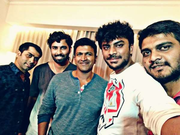 Actor Puneeth Rajkumar's Rap song for dance reality show 'Kick'