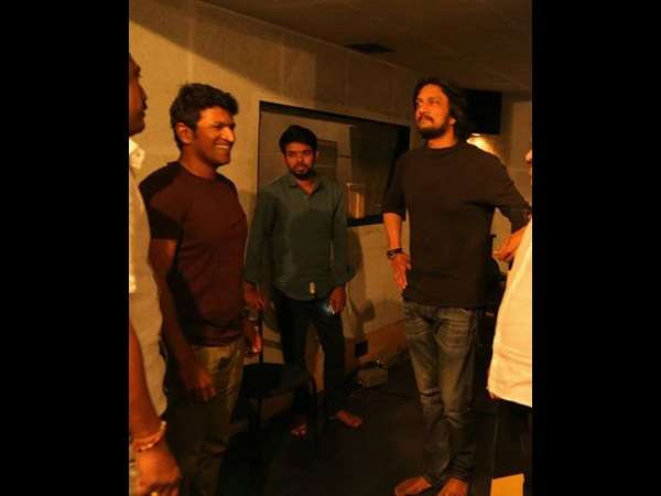 Will Actor Sudeep and Actor Puneeth Rajkumar clash on August