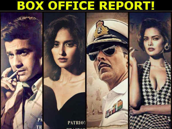 Hindi Movie 'Rustom' Box Office Collection Report