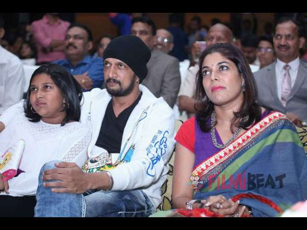 Sudeep wife Priya turns Producer with a cookery show
