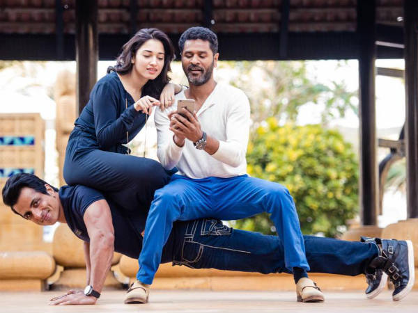 Actor Prabhu Deva rushed to hospital due to back injury