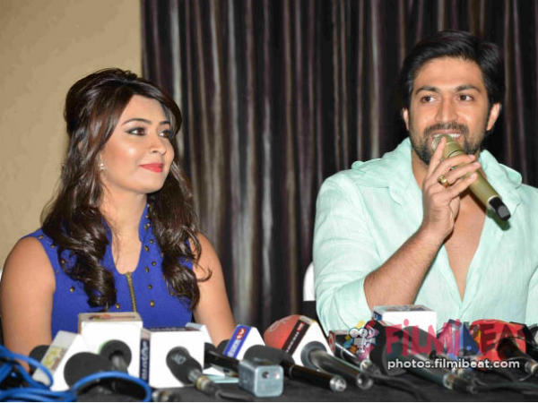 Radhika Pandit and Yash wishes fans on 'Ganesh Chaturthi'