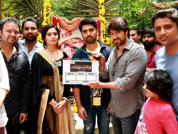 Actor Anish Tejeshwar's Kannada Movie 'Maanja' goes on floors
