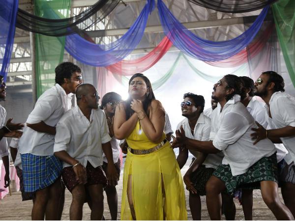 'ಮರಿ ಟೈಗರ್' ಜೊತೆ ಪಕ್ಕಾ ಲೋಕಲ್ ಸ್ಟೆಪ್ ಹಾಕಿದ ನೀತು ಶೆಟ್ಟಿ