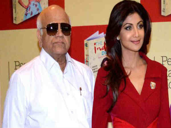 Actress Shilpa Shetty's father Surendra Shetty breathes his last