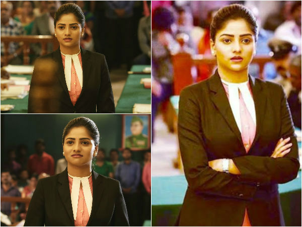 Rachita Ram First Look Revealed in Pushpaka Vimana