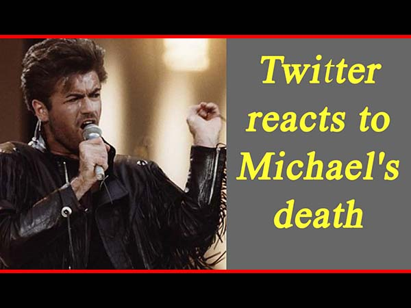 Bollywood Celebs React To British Pop Singer George Michael's Sudden Demise!