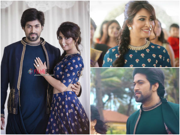 Yash Radhika Pandit Separate Reception For Fans
