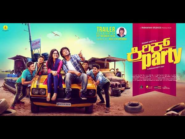 Rakshit Shetty starrer 'kirik Party' Movie grabbed 6 crores in three Days