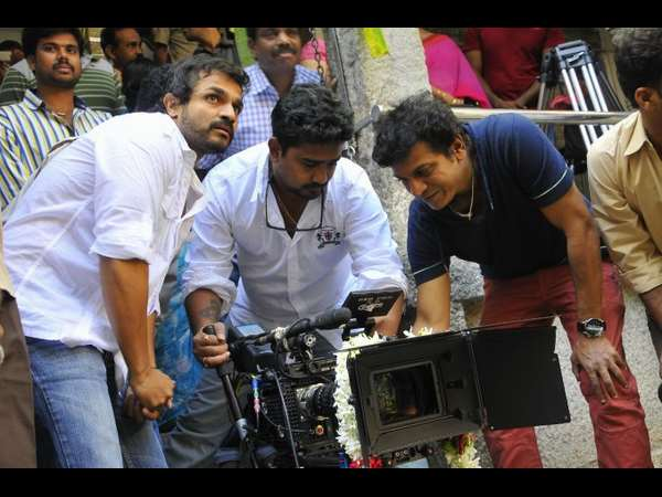 Shivarajkumar starrer 'Leader' Film Shooting at Kashmir