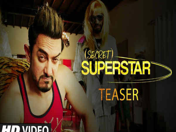 'Secret Superstar' is Aamir Khan upcoming movie