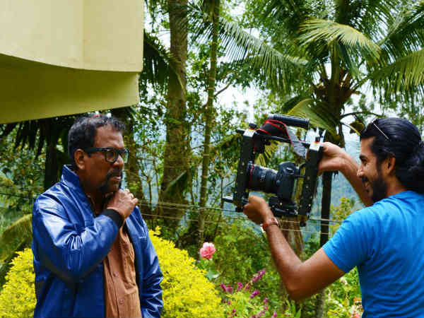 'V2' Kannada Movie Making by only Two Person
