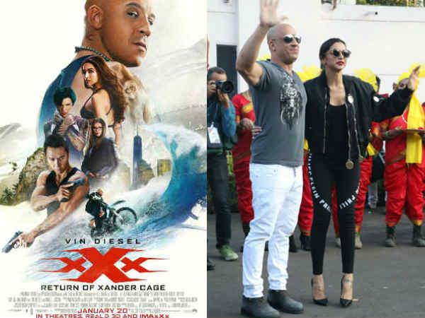ಭಾರತದಲ್ಲಿ ವಿನ್ ಡೀಸೆಲ್ ಪ್ರತ್ಯಕ್ಷ: 'XXX' ರಿಲೀಸ್ ಗೆ ದಿನಗಣನೆ