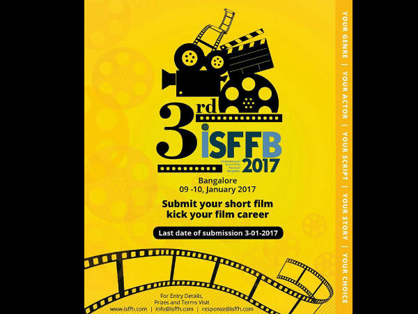 3rd International Short Film Festival Bangalore Started today