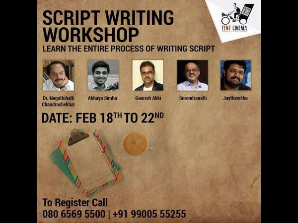Nagathalli Chandrashekhar Will Conduct Workshop on Script Writing