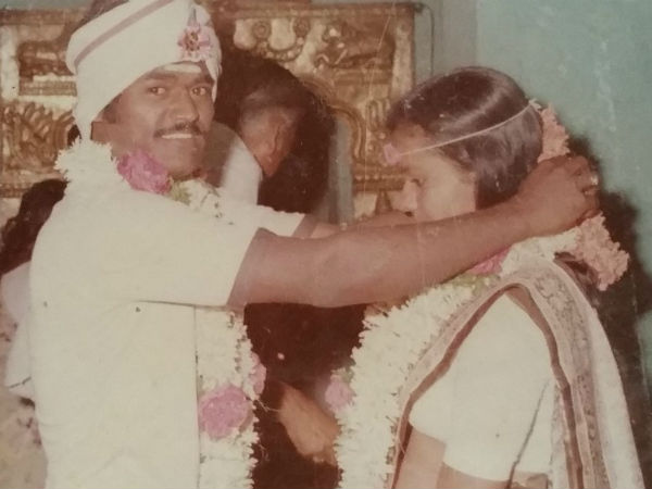 Kannada Actor Jaggesh Celebrated his 33rd marriage anniversary