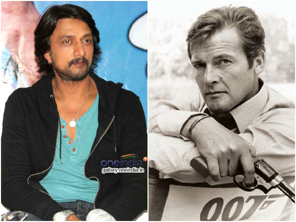 Actor Sudeep Condolence to Rozer Moore