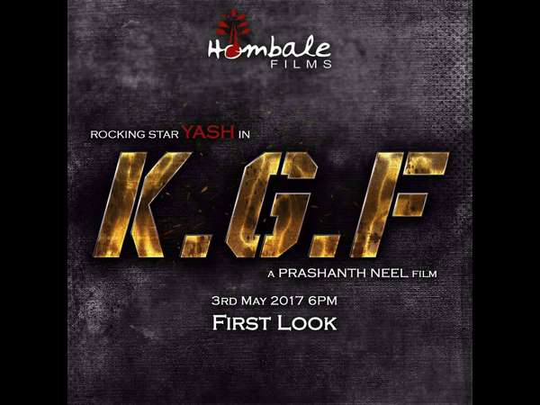 Yash Starrer KGF Movie First Look Release on 3rd April