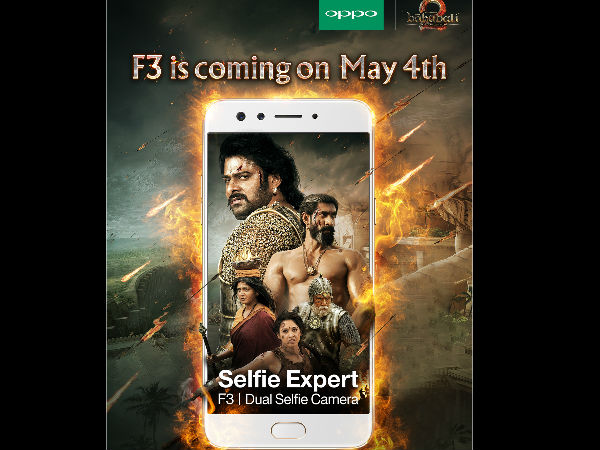 When Two Heroes Come Together – Baahubali 2 & OPPO F3