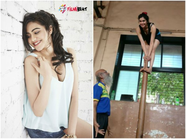 In pic: Actress Adah Sharma's New Adventure