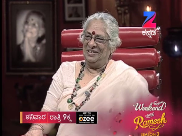 B.Jayashree in Weekend with Ramesh-3