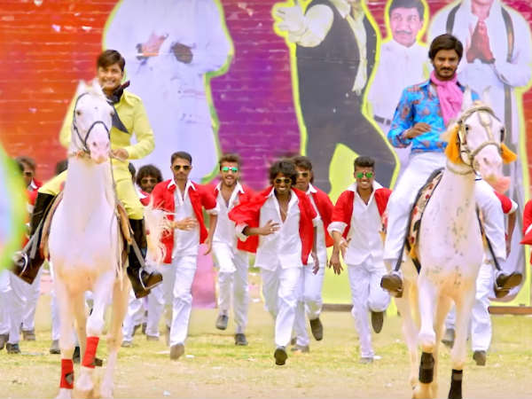 'Raj Vishnu' movie title song is out.