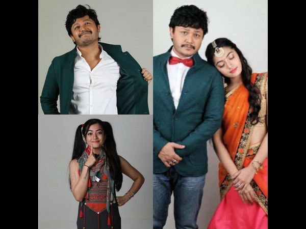 Ganesh's Chamak Kannada Movie New look out